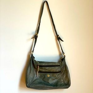 Stone Mountain Grey Genuine Leather Bag